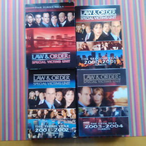 Law & Order Special Victims Unit DVD Set's
