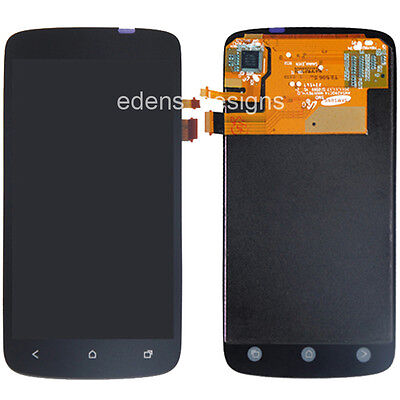 New Black LCD Display Touch Screen Digitizer Assembly for HTC One S Replacement on Rummage