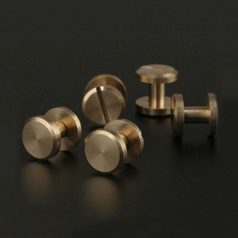 Solid Brass Chicago Screws Studs Leather Craft Belt Post