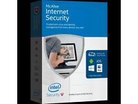 McAfee Internet Security 2017 - Electronically Downloaded