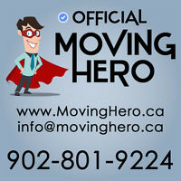Official Moving Hero! - 902-801-9224 Book now!