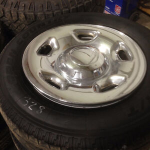 #328 SET OF FORD ALLOY RIMS ON TOYO TIRES 265/70R18