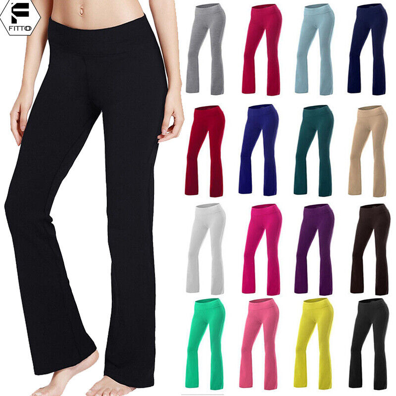 Women High Waist Sports Yoga Pants Leggings Printed Fitness Gym Stretch Trousers 13