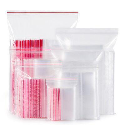 100pcs Clear Grip Seal Resealable Polyethylene Small Zip Lock Plastic Bags Cheap