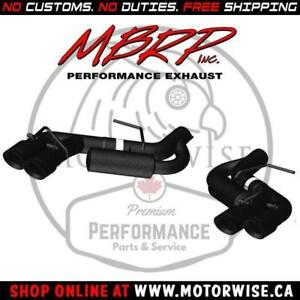 MBRP Black Race Series Axleback | 2016 to 2018 Camaro SS & ZL1 | Shop & Order Online at www.motorwise.ca