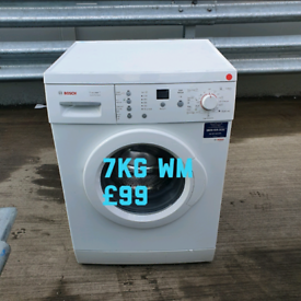Bosch 7kg washing machine free delivery in derby 1810