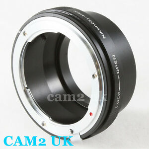 Nikon F mount AF-S G Lens to Sony E mount Adapter NEX-A7 A7R A5000 6 7 5R VG900