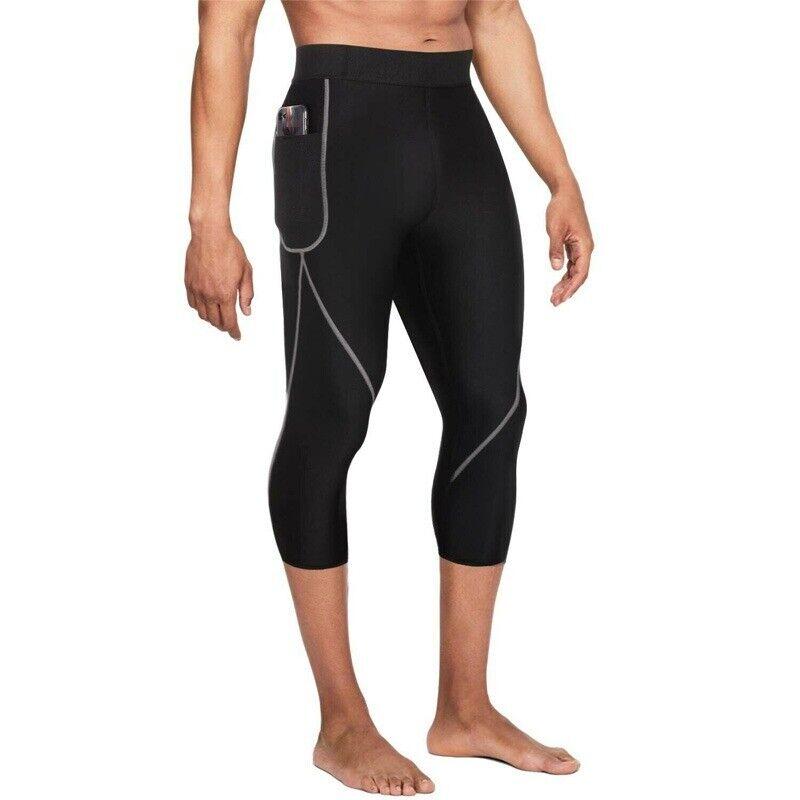 Wonderience Men Neoprene Slimming Pants for Weight Loss Hot