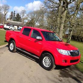 2016 Toyota Hilux Invincible 3.0 D4D Red Automatic