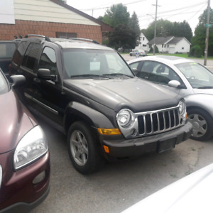 06 jeep liberty 4x4 safety 3 month warranty* incliuded