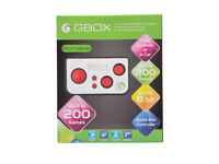 NEW,MINI GBOX Retro 200 Built in Video Games Console for Tv