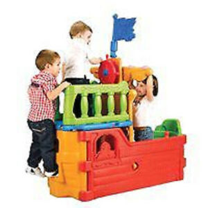 plastic pirate ship playhouse climber, brand new condition!! Kitchener / Waterloo Kitchener Area image 1