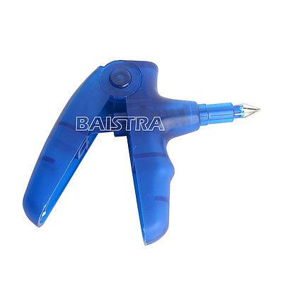 Dental Ligature Gun Dispenser Orthodontic Instrument Blue High Strength