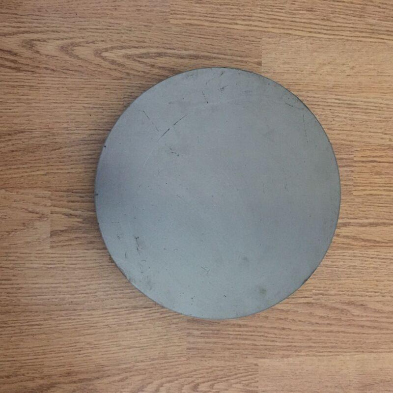 1/4 Inch X 10 13/16 Inch Round/Disc Metal Steel Plates A36 Grade Steel