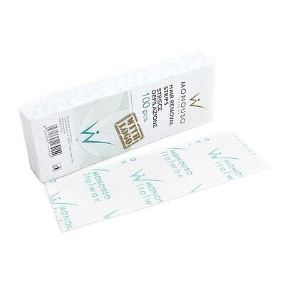 Italwax Monouso Hair Removal Depilation Strips 100pcs