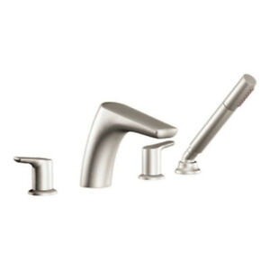NEW Moen tub faucet with wand