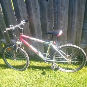 Supercycle 18-spd bike, 24-inch tires