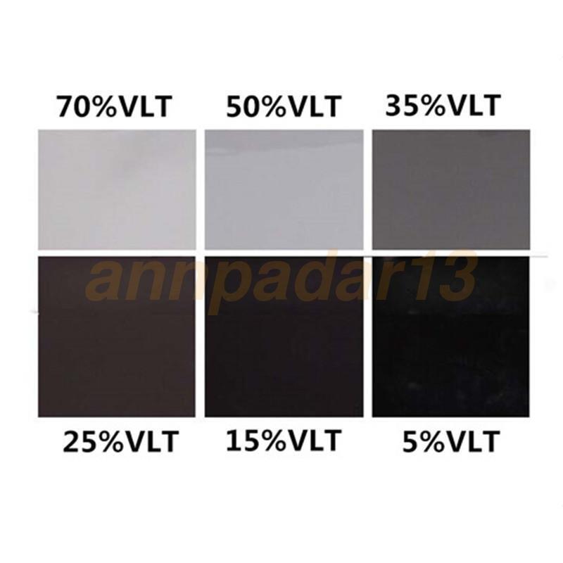 Car Black Car Home Glass Window Tint Film and shade Roll 2PLY 50cm*2m 70/% VLT