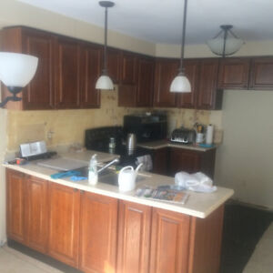 Complete KITCHEN CABINETS great condition