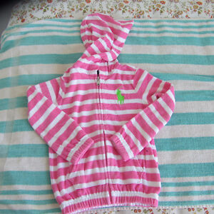 Hoodie and jogger for toddler girl size 4