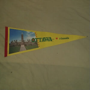 Ottawa Canada Vintage Pennant in good condition