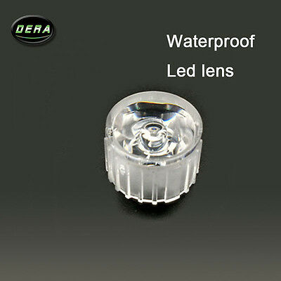 100x Led Waterproof Lens1w Lamp Bead 45 Degree Lens Led Wall Washer With Stents
