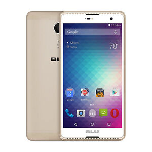 """BLU 5.5"""" Advance Android GOLD"""