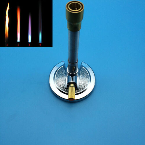 Safety Laboratory energy-saving Bunsen Burner Made Of Alloy and Brass US 2-5Days