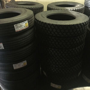 Heavy duty truck and trailer tires for sale
