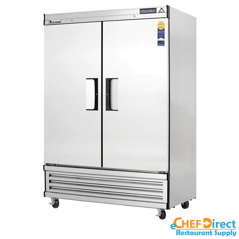 "Everest Ebf2 54"" Double Door Reach-in Freezer"