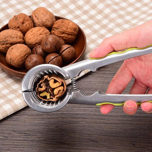 Nut Cracker Pecan Walnut Aluminum Alloy Sheller Plier Nut Op