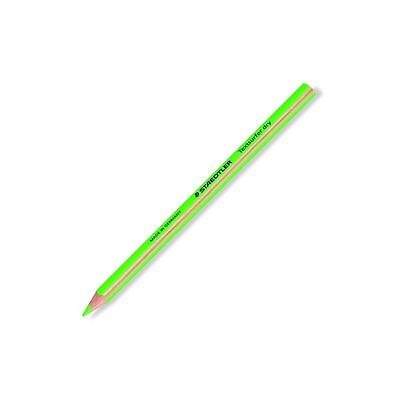 5 Pcs Staedtler Textsurfer Dry Highlighter Pencils Fluorcent Green Germany