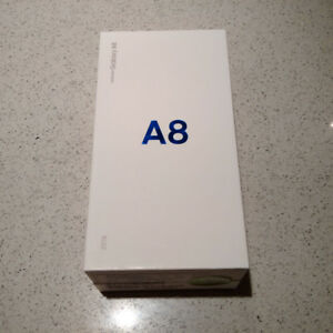 Brand New NEVER USED Samsung Galaxy A8 – Black – 32GB