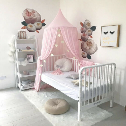 Baby Kids Play Canopy Bed Netting Fly Mosquito Tent, Cotton