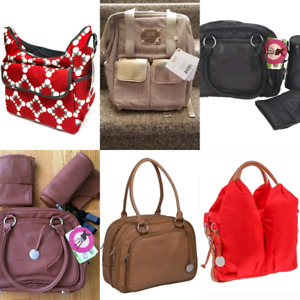 Brand new with tags diaper bags perfect gifts!