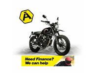 HANWAY SCRAMBLER 125 - CLASSIC RETRO MOTORCYCLE - LEARNER LEGAL