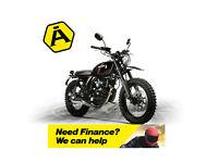 HANWAY SCRAMBLER 125 - CLASSIC RETRO MOTORCYCLE - LEARNER LEGAL