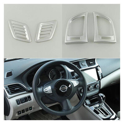 Interior Air Condition Vent Cover Trim For Nissan Sentra Sylphy 2012 2016