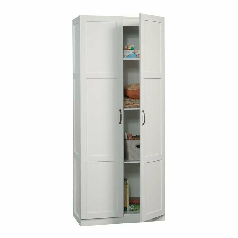 Sauder Select Storage Cabinet in White