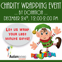 Gift Wrapping - Autism Ontario Kingston Chapter