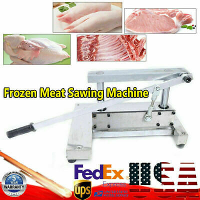 Us Manual Meat Bone Cutting Machine Spine Trotters Meat Saws Sawing Cutter 110v