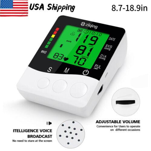 Blood Pressure Monitor  Automatic Upper Arm Digital Pulse Meter BP Cuff Machine