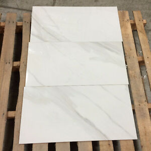 "Cloudy White HD Porcelain 12""X24"" and 24"" x 24"" *$1.98/sq.ft.*"