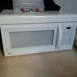 Over the Range Microwave- LG