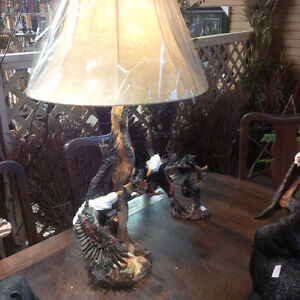 Eagle Flying Table Lamp Peterborough Peterborough Area image 2