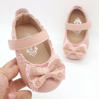 Cute Bowties Infant Shoes Baby Princess Shoes Toddler Fashion Shoes for Girls - Cute Shoes For Girls
