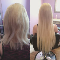 Hair Extension Installation