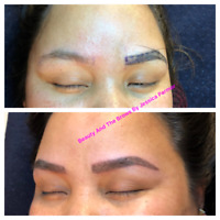 Microblading and brow services ( threading , tatoo etc )