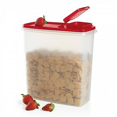 TUPPERWARE Super Cereal Storer Storage Container/Keeper 20 Cup-Passion Red-NEW