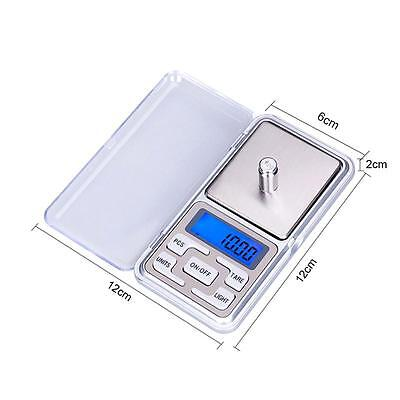 Pocket Digital jewellery Scale Weight 200g x 0.1g 0.01g Balance Electronic Gram